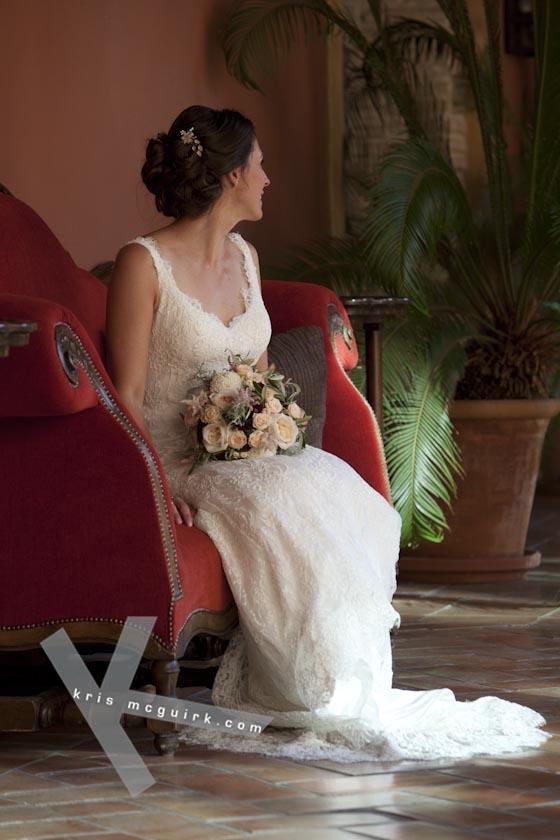 The Bride. Hotel Palacio de Santa Paula, Weddings, Granada, Spain.