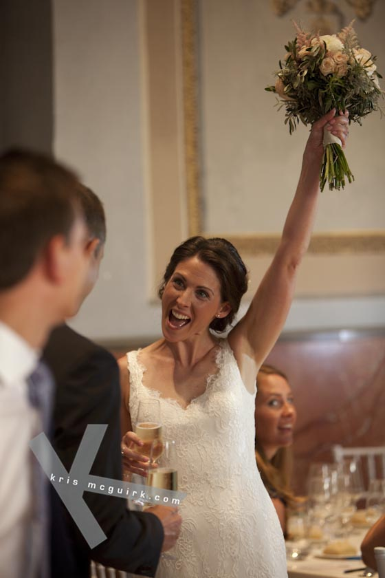 The Bride at the Venue. Hotel Palacio de Santa Paula, Weddings, Granada, Spain.