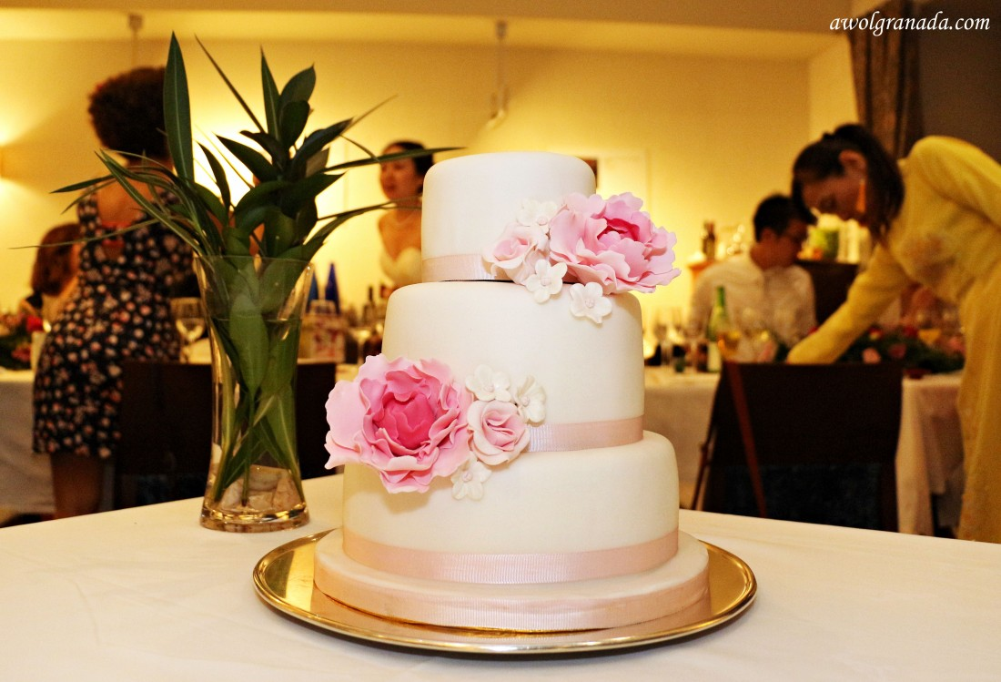 The Cake, The Parador, Weddings, Granada, Spain.