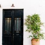 Cortijo room door