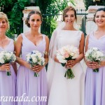 The Bride & Bridesmaids. Weddings, Cortijo del Marqués, Granada, Spain.