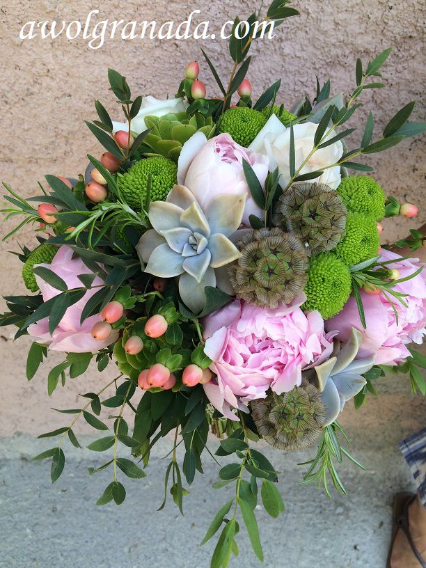 Wedding Flowers | AWOL Granada