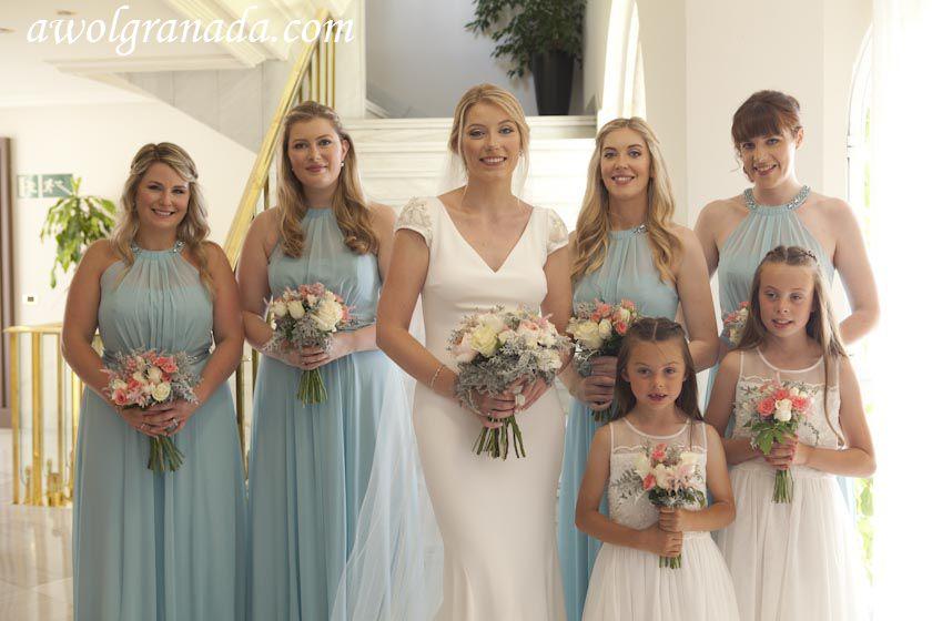 Bride & Bridesmaids ready