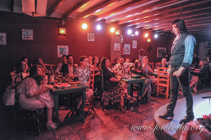 Flamenco Show at the Jardines de Zoraya