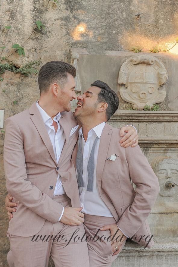 Gareth & Mauricio at the Alhambra