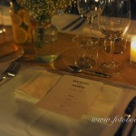 Table Setting at Las Tomasas