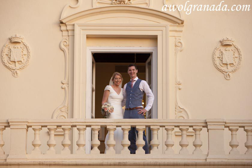 The Couple at the balcony