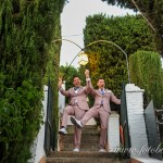 The Grooms in the Gardens of Las Tomasas
