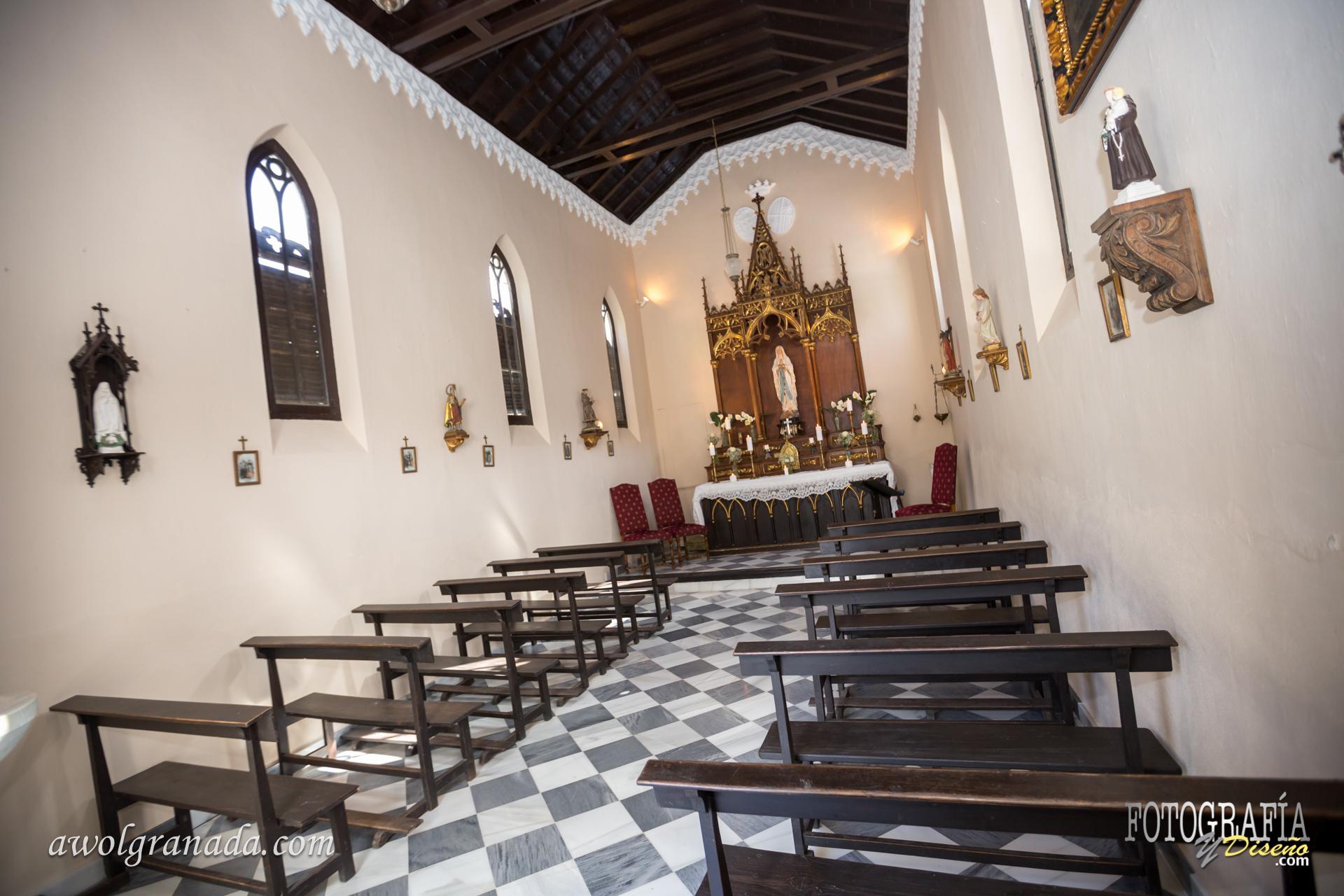 The Chapel at Palacete de Cazulas