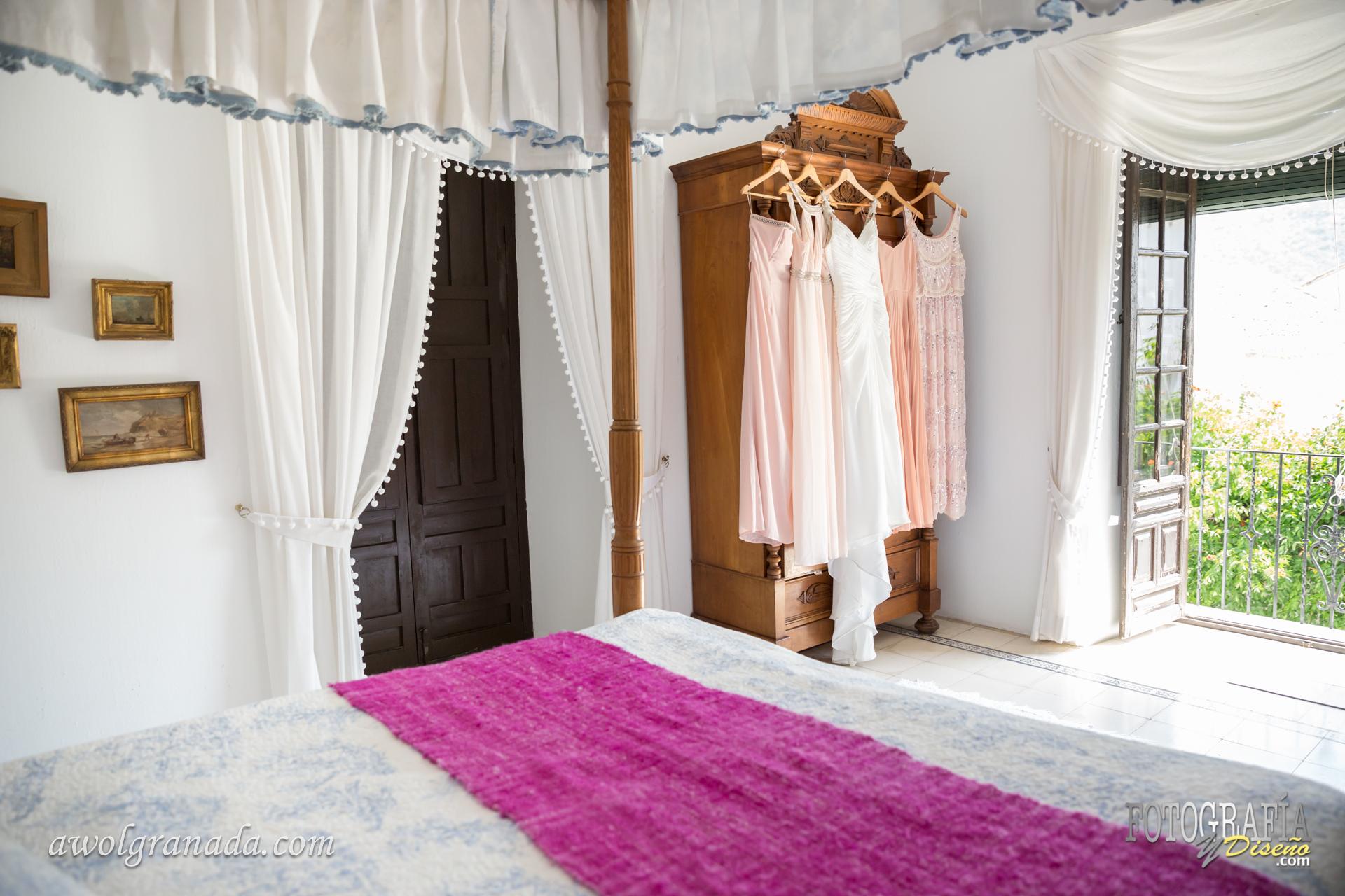 The Honeymoon Suite in the Palacete de Cazulas