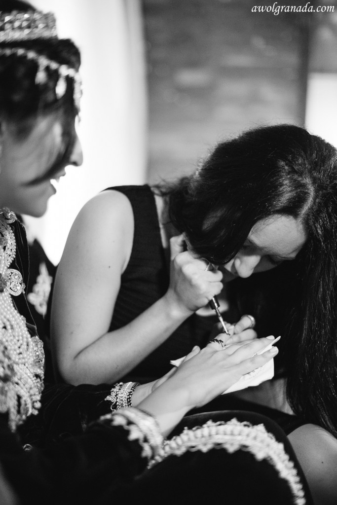 The Bride with the Henna
