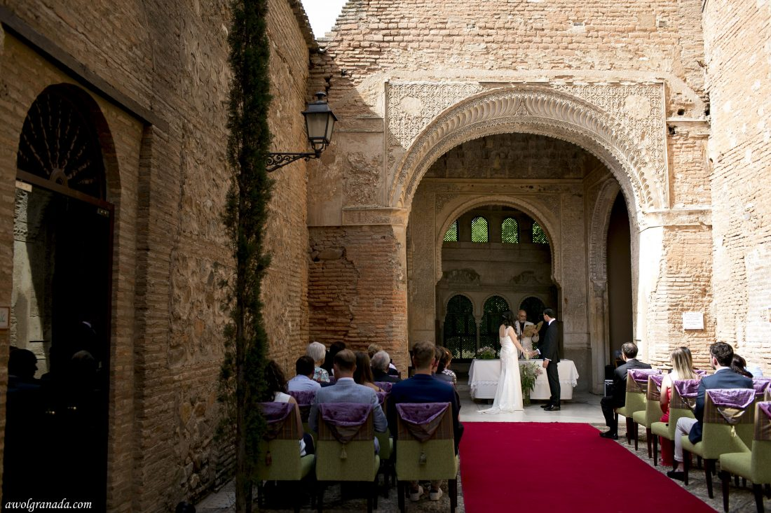 The Ceremony AWOL Granada Wedding Planner Granada Spain