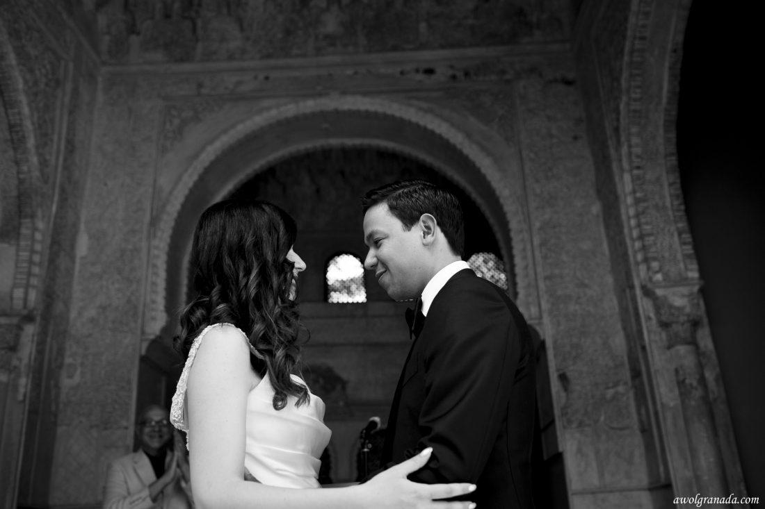 Just Married AWOL Granada Wedding Planner Granada Spain