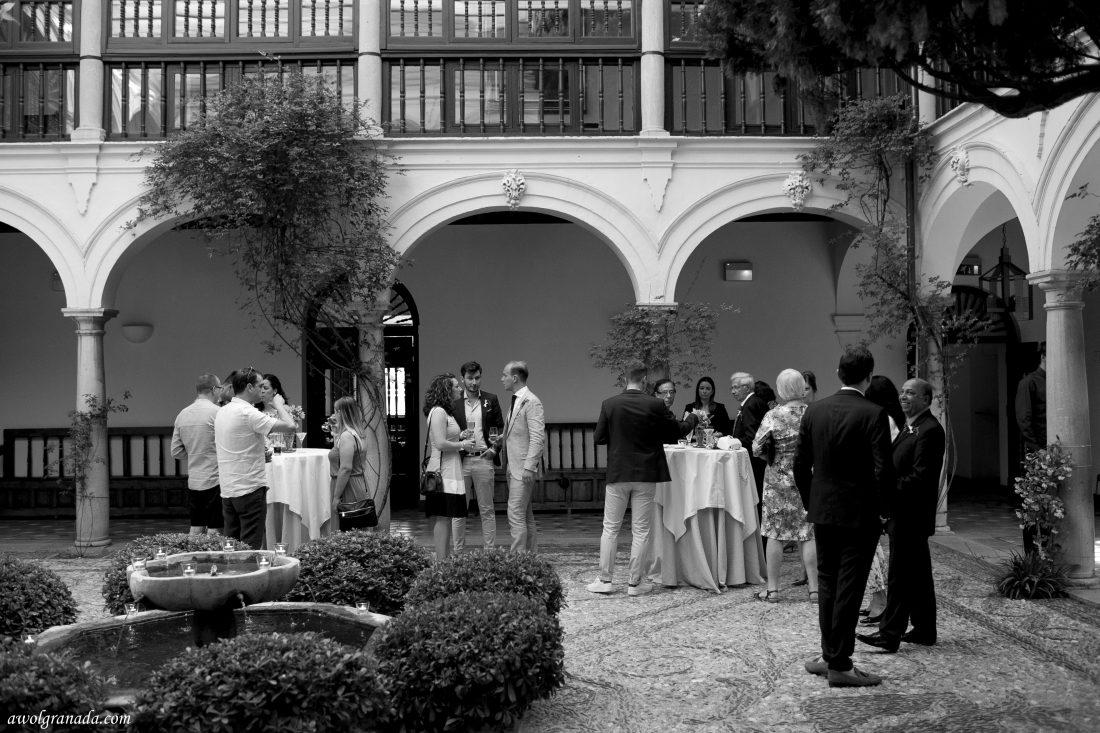 Cocktail Hour AWOL Granada Wedding Planner Granada Spain