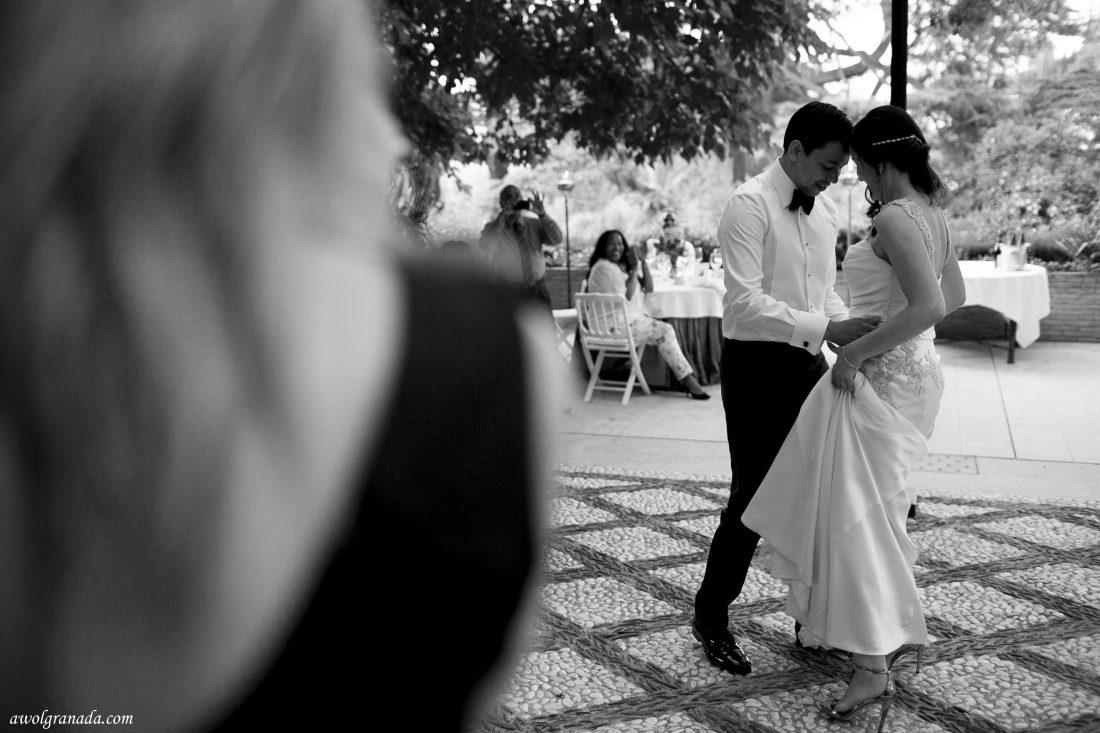 First Dance Wedding Photo's AWOL Granada Wedding Planner Granada Spain