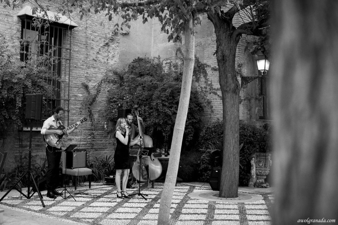Wedding Band Wedding Photo's AWOL Granada Wedding Planner Granada Spain