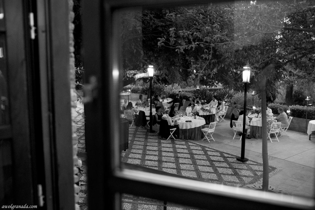 Wedding Breakfast Wedding Photo's AWOL Granada Wedding Planner Granada Spain