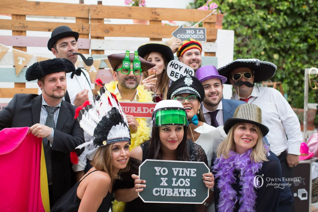 Photobooth, La Chumbera, AWOL Granada, Wedding Planner, Spain