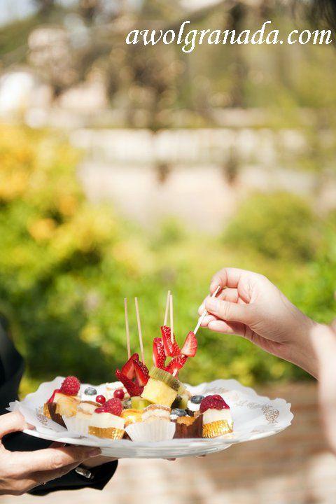 Cocktails, Parador, AWOL Granada, Wedding Planner, Spain