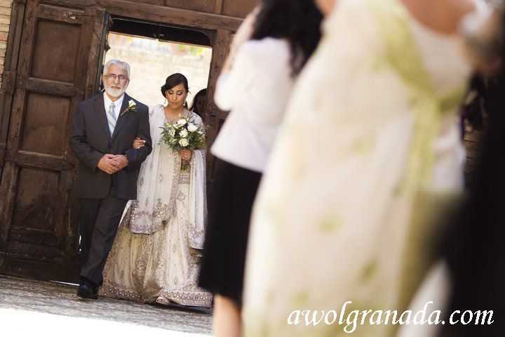 Here comes the bride, AWOL Granada, Wedding Planner, Spain