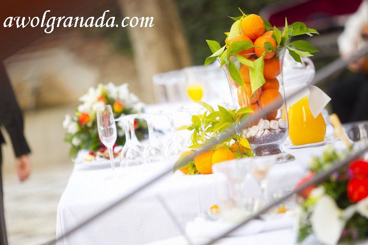 Parador Cocktails, AWOL Granada, Wedding Planner, Spain