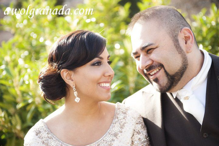 The Happy Couple, Alhambra Photo Shoot, AWOL Granada, Wedding Planner, Spain