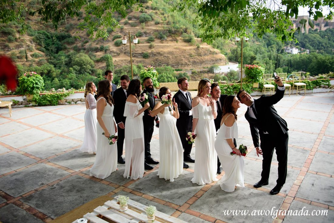AWOL Granada Wedding Planner Spain Bridesmaids & Groomsmen