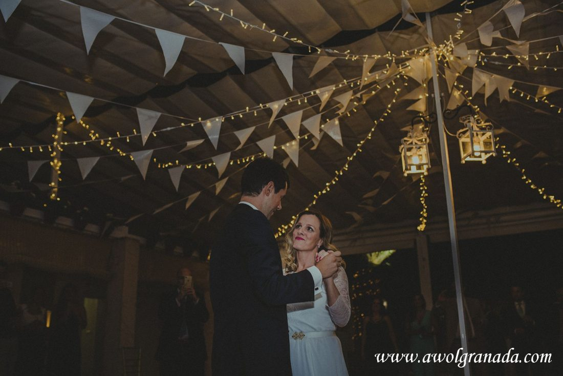 AWOL Granada Wedding Planner Spain First Dance