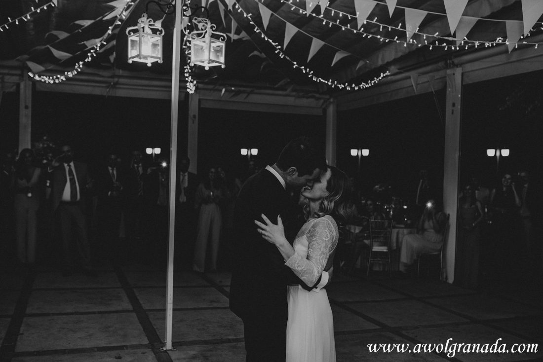 AWOL Granada Wedding Planner Spain First Dance La Chumbera