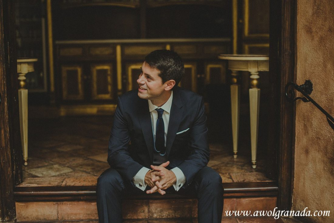 AWOL Granada Wedding Planner Spain The Groom