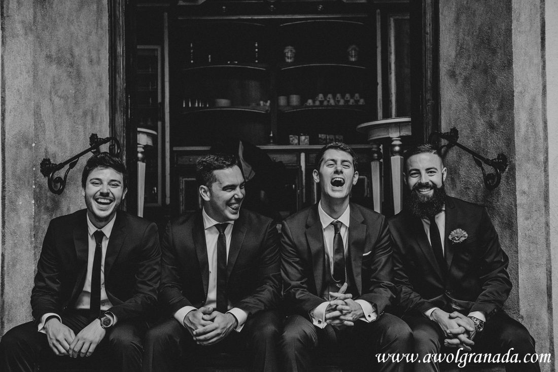 AWOL Granada Wedding Planner Spain The Groomsmen