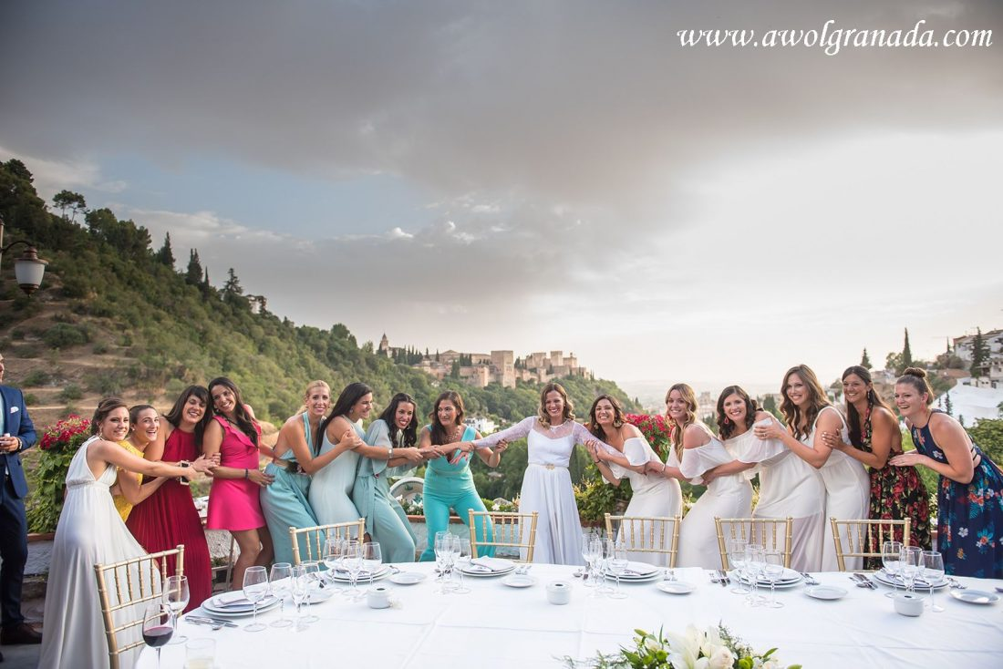 AWOL Granada Wedding Planner Spain The girls