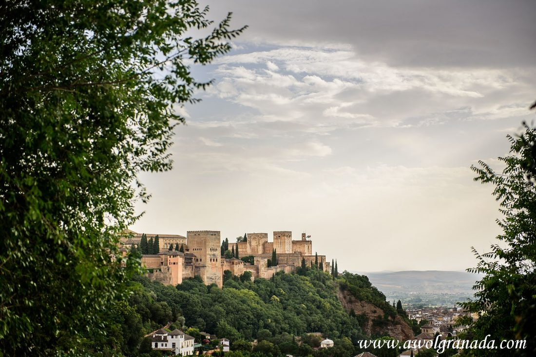 AWOL Granada Wedding Planner Spain View from La Chumbera