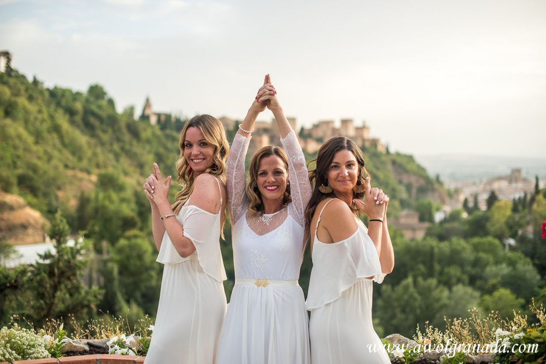 AWOL Granada Wedding Planners Spain Bond Girls