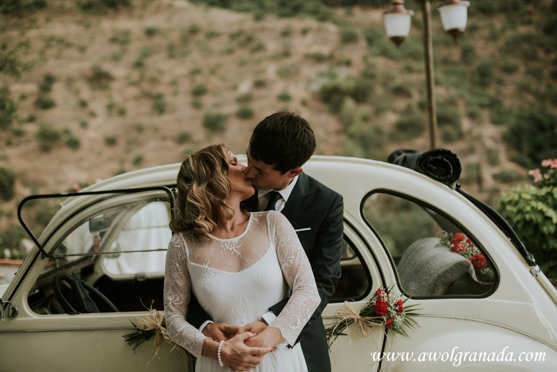 AWOL Granada Wedding Planners Spain Sealed with a Loving Kiss