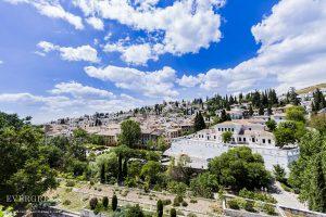 Albayzin View from Carmen de los Chapiteles