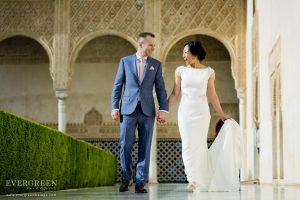 Alhambra Wedding Photoshoot