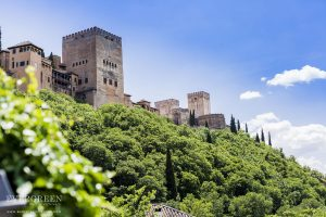 AWOL Granada - Wedding Ceremony below the Alhambra at the Carmen de los Chapiteles