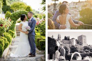 AWOL Granada - Bride and Groom Photos at Carmen de los Chapiteles