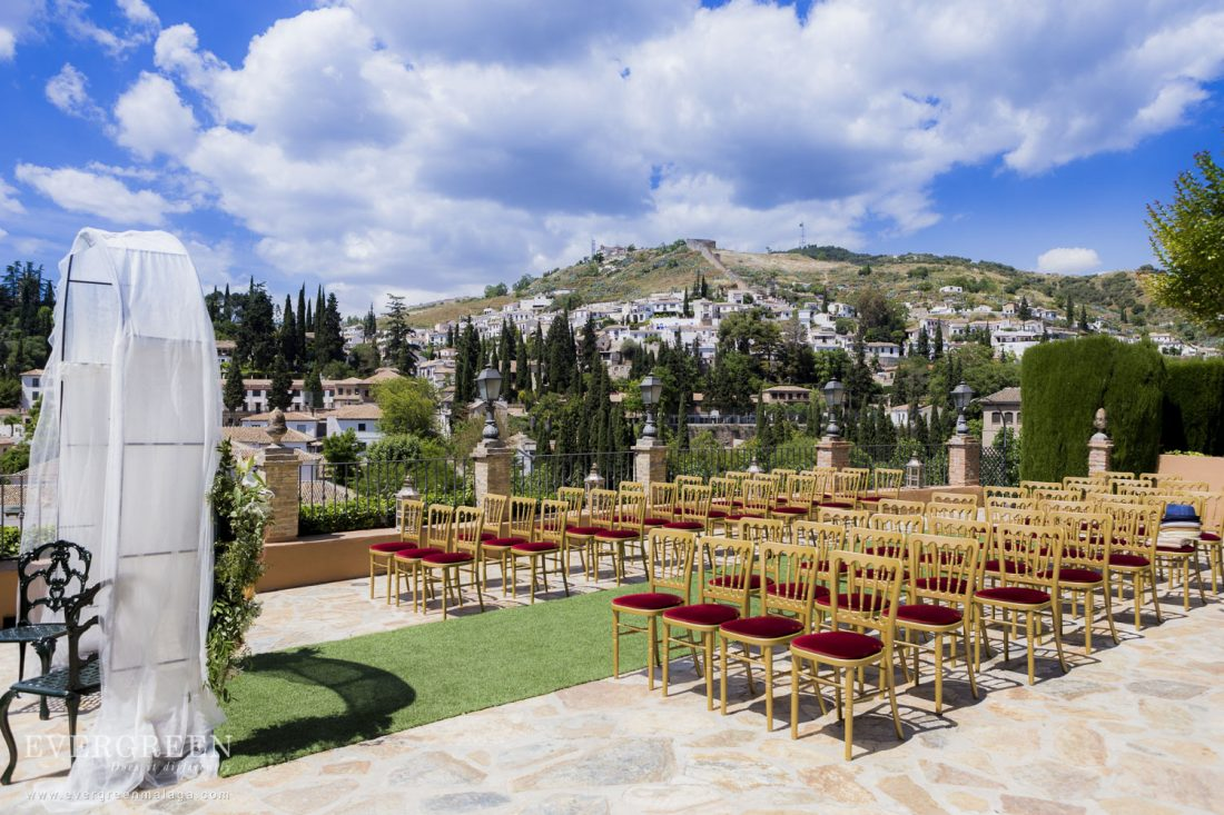 AWOL Granada - Wedding Ceremony in Carmen de los Chapiteles
