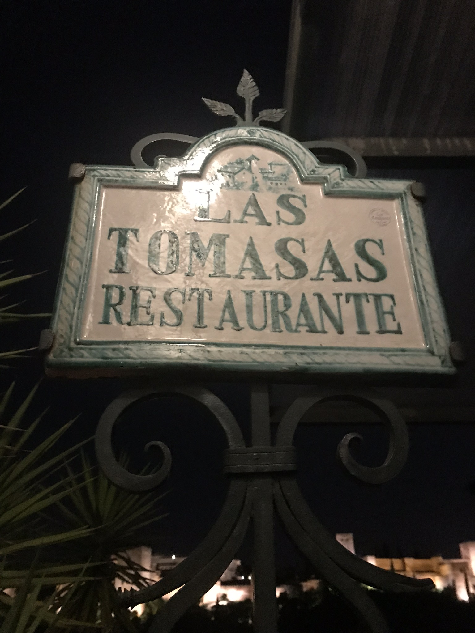 Cocktail at Las Tomasas
