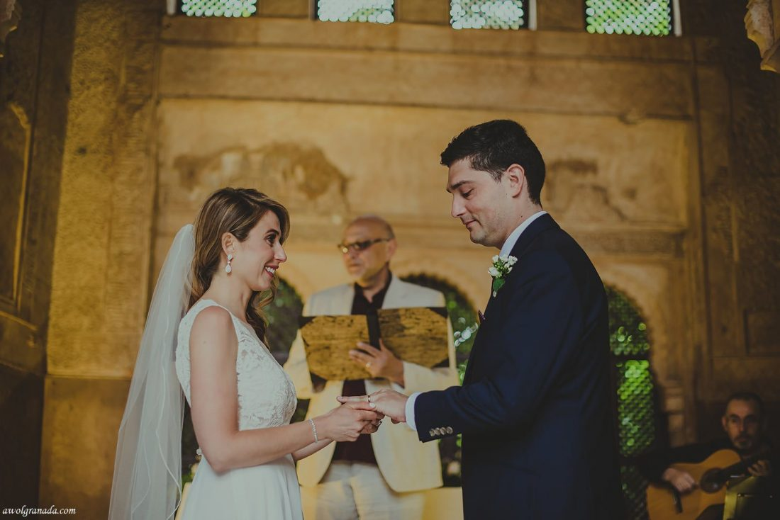 AWOL Granada, Wedding Planners, Spain - Wedding Ceremony