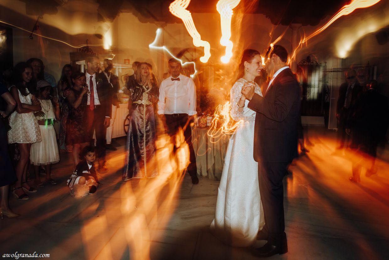 AWOL Granada, Wedding Planners, Spain - First Dance