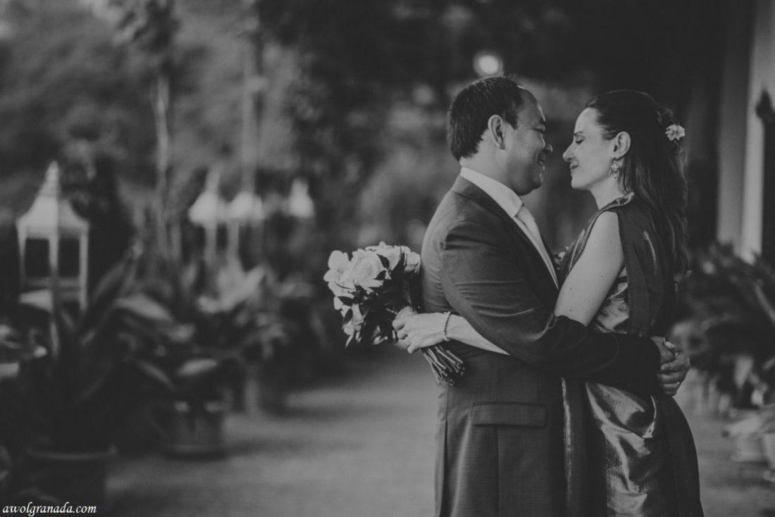 AWOL Granada, Wedding Planners, Spain - The Happy Couple