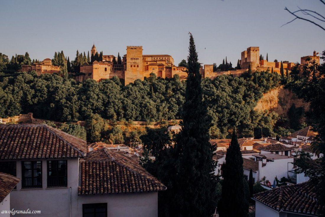 AWOL Granada, Wedding Planners, Spain - Pre-Wedding Cocktail Mirador de Morayma