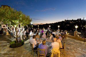 AWOL Granada, Wedding Planner, Spain - Wedding Speeches during sunset