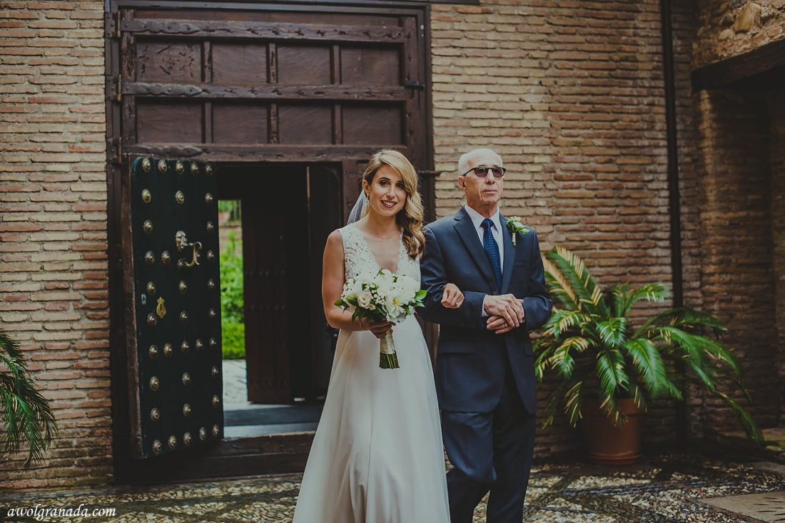 AWOL Granada, Wedding Planner, Spain - Here comes the Bride