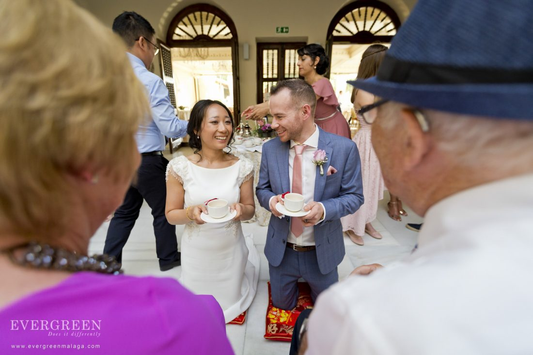AWOL Granada Weddings Chinese Tea Ceremony