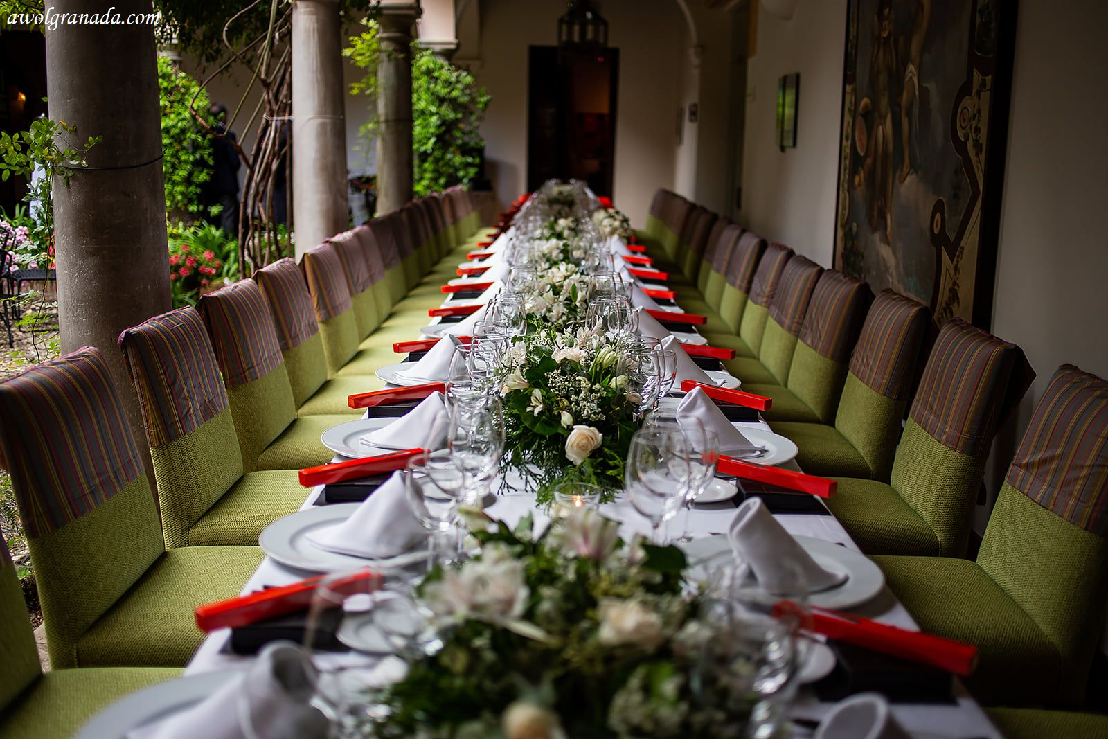AWOL Granada, Wedding Planers, Spain - The Wedding Breakfast