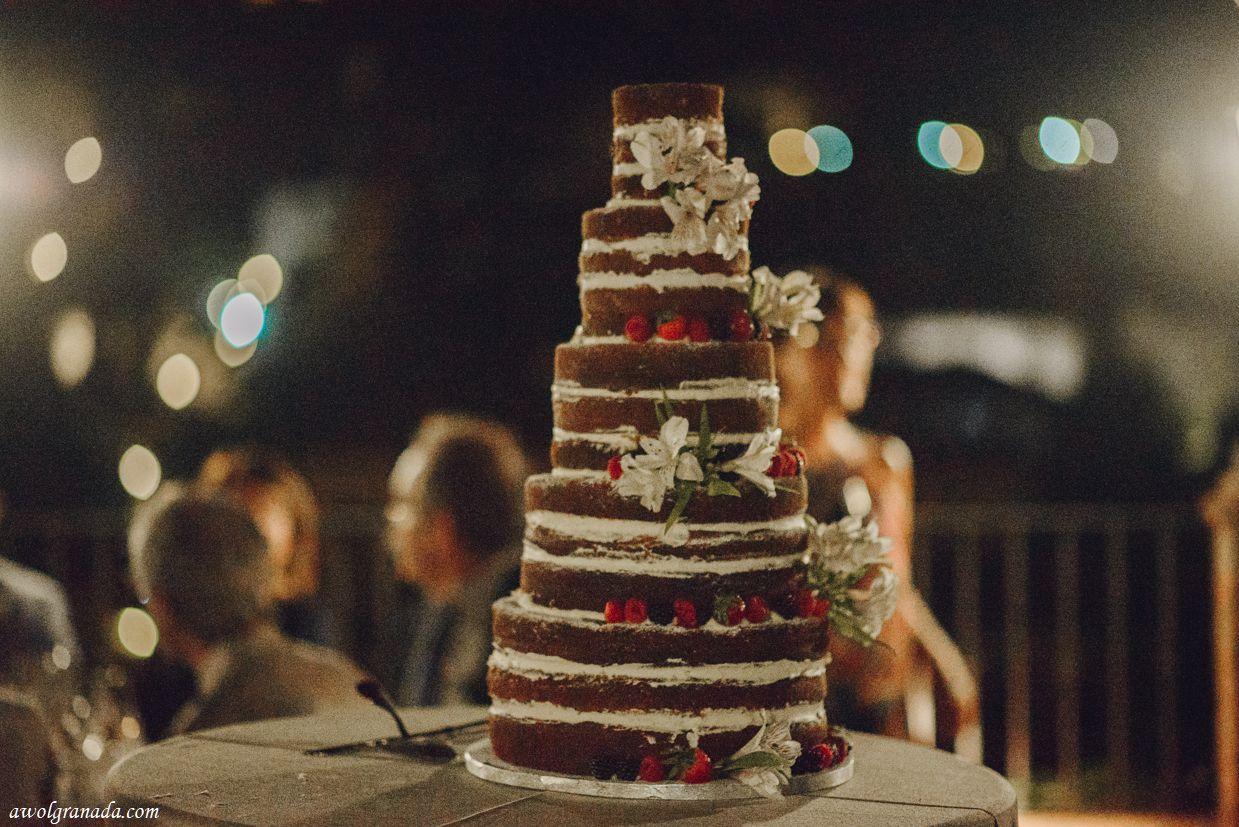 AWOL Granada, Wedding Planner, Spain - Cutting of the cake